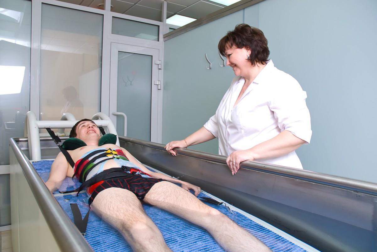 Вытяжение позвоночника в санатории Белокуриха